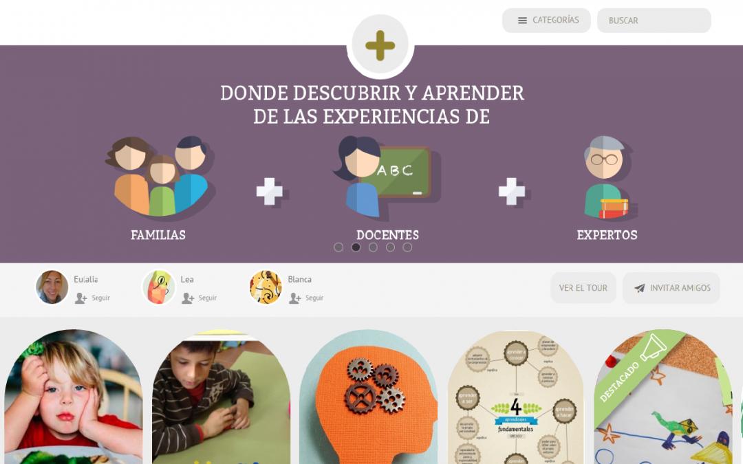 Nova xarxa social d'educació