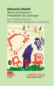 """Portada del llibre """"Educació infantil. Bones pràctiques a l'Hospitalet de Llobregat"""""""