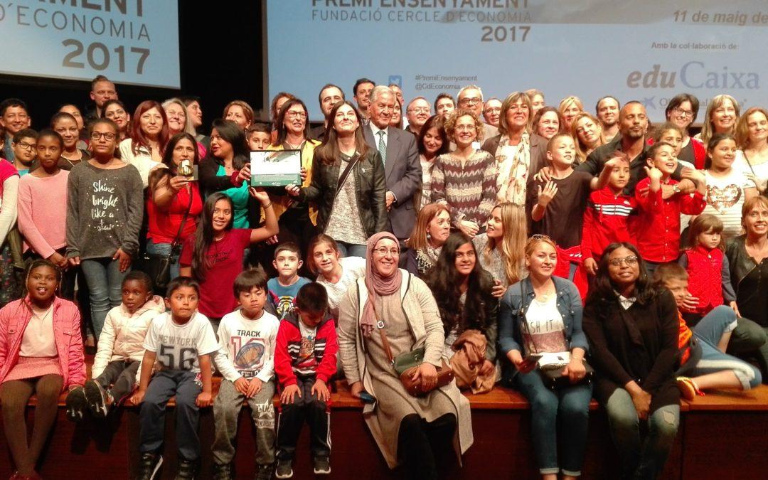 L'escola Joaquim Ruyra, reconeguda amb el Premi Ensenyament 2017